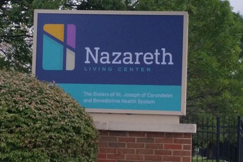 nazareth sign