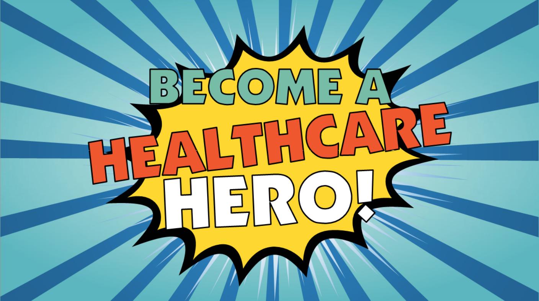 become a healthcare hero